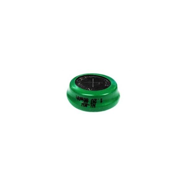 NiMH 80 mAh knapcelle batteri - 1,2V - Evergreen