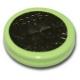 NiMH 200 mAh knapcelle batteri - 1,2V - Evergreen