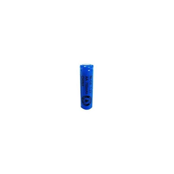 NiCd AA 700 mAh batteri uden knup - 1,2V - Evergreen