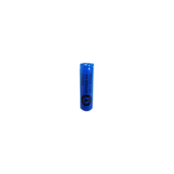 NiCd AA 800 mAh batteri uden knup - 1,2V - Evergreen