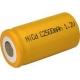NiCD C 2500 mAh batteri uden knup - 1,2V - Evergreen