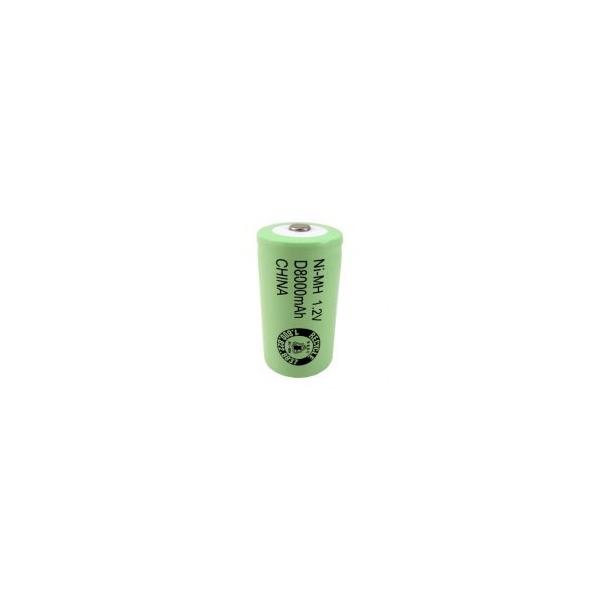 LR20 / D 8000 mAh genopladelig batteri - 1,2V - Evergreen