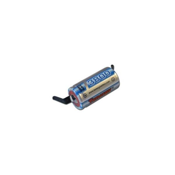 NiMH Sub C 3800 mAh batteri - 1,2V - Tenergy