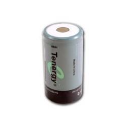 NiMH D 10000 mAh batteri flat hoved - 1,2V - Tenergy