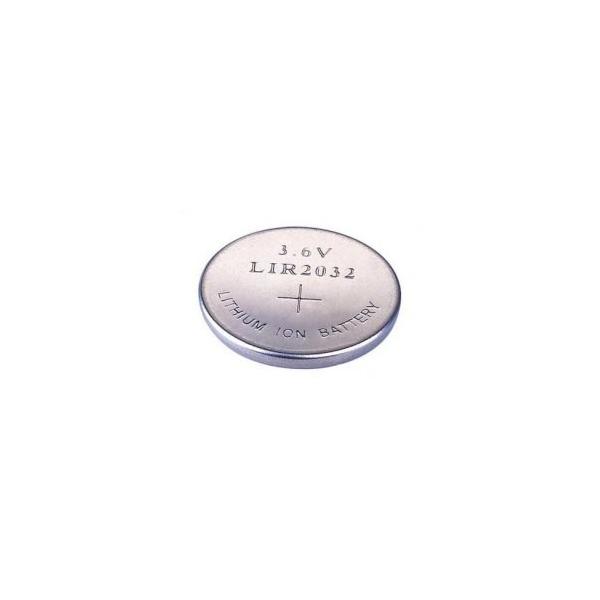 LIR 2032 Li-On Knapcelle batteri - 3,6V