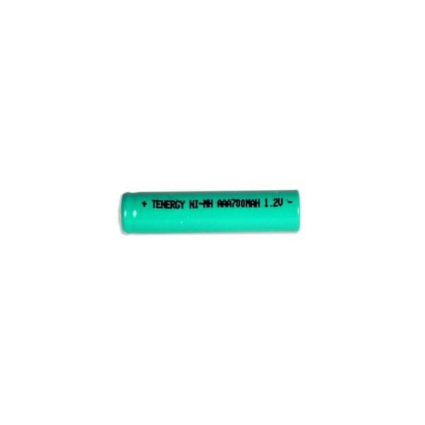 Nimh AAA 700 mAh Batteri - flat hoved - 1,2V - Tenergy
