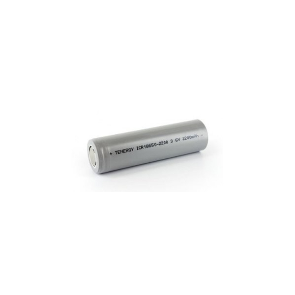Li-Ion Genopladelig Batteri 18650 - 3,6V - 2200 mAh