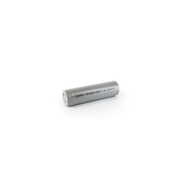 Li-Ion Geopladelig batteri 18650 - 3,6V - 2200 mAh