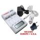 Chargeur ultra rapide LR6 AAA / LR3 AA écran LCD - Tenergy TN156
