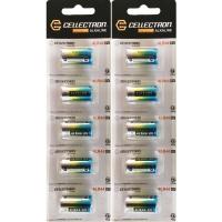 10 x 4LR44 / 476A Alkaline batteri - 6V