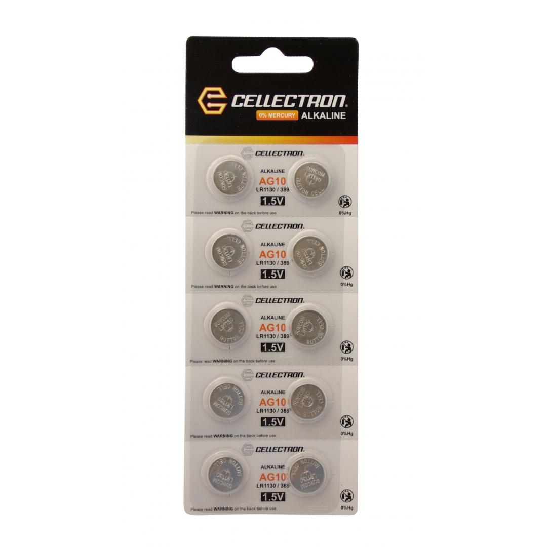 Ag10 10 Alkaline Knapcelle Batteri Ag10 Lr1130 389 1
