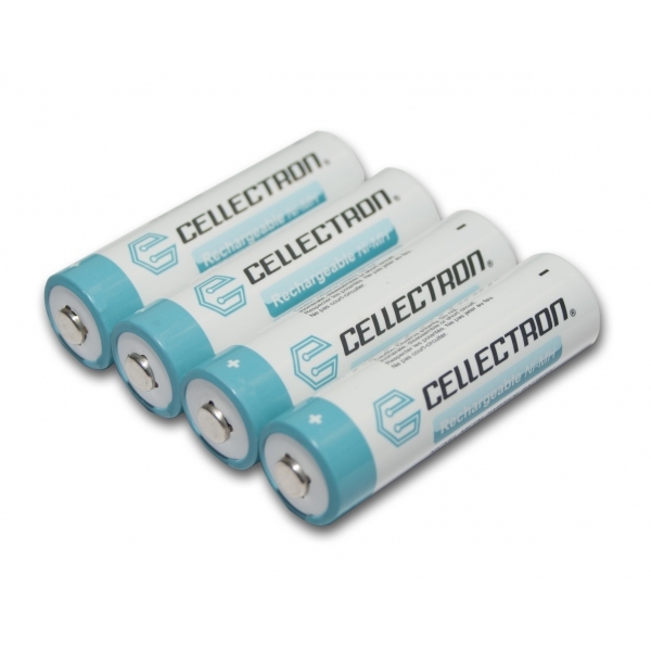 4X NiMH AA 2200 mAh batteri - 1,2V