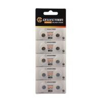 SR626 10 knapcelle batteri sølv oxide SR626/ SR66/ 376 1,55V Cellectron