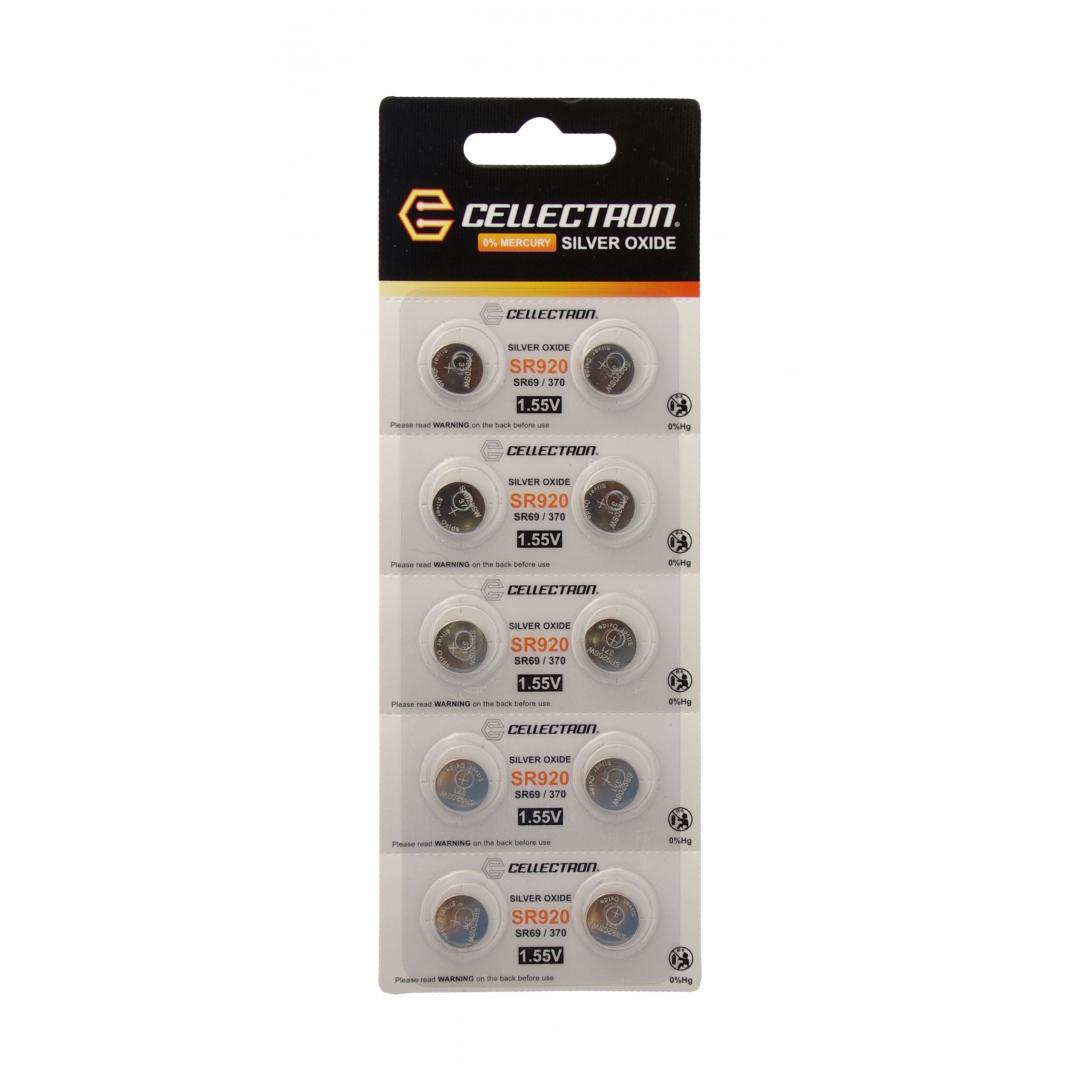 a8793f62906 SR920 10 knapcelle batteri sølv oxide.