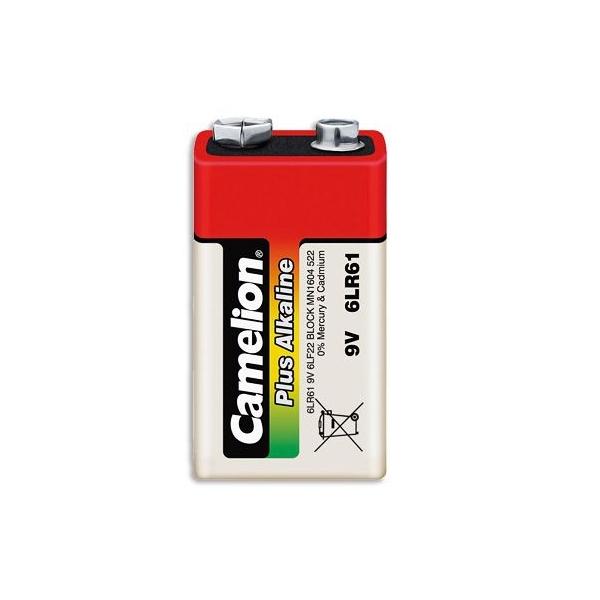 9V / 6LR61 Alkaline batteri - 9V