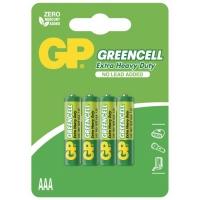 4 X AAA / R03 Brunstensbatteri - 1,5V