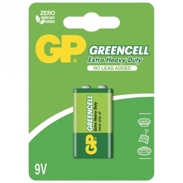 9V / 6LR61 Brunstensbatteri - GP Battery