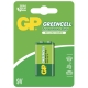 9V / 6LR61 Brunstensbatteri - GP Battery