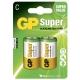 2 x C / LR14 Alkaline batteri - 1,5V - GP Battery
