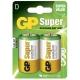 2 x D / LR20 Alkaline batteri - 1,5V - GP Battery
