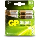 12 x AA / LR6 1.5 V Alkaline batteri - GP Battery