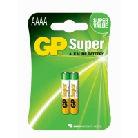 2 x AAAA / LR61 SUPER Alkaline batteri - 1,5V - GP Battery