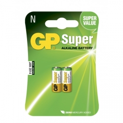 2 x N / LR01 SUPER Alkaline batteri - 1,5V - GP Battery