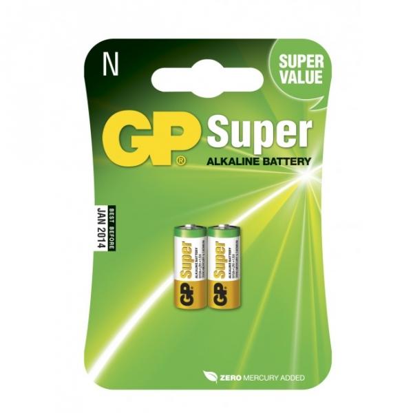 2 x N / LR01 SUPER Alkaline batteri - 1,5V - GP Battery