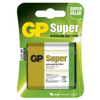1 x 3LR12 SUPER Alkaline batteri - 4,5V - GP Battery