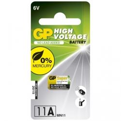 1 x 11A / MN11 Alkaline cylindrisk batteri - 6V - GP Battery
