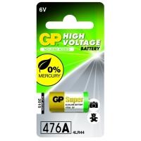 1 x GP 476A / 4LR44 / A544 / PX28A Alkaline batteri - 6V - GP Battery