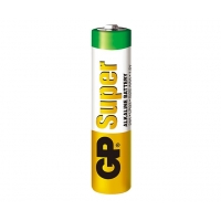 2 x AAA / LR03 SUPER - Alkaline batteri - 1,5V - GP Battery