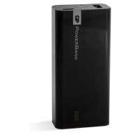 Bærbart batteri Yolo 5200 mAh, 1C05A, sort