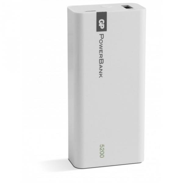 Bærbart batteri Yolo 5200 mAh, 1C05A, hvid
