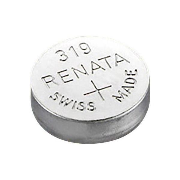 SR64 / 319 Knapcelle batteri - 1,55V - sølv oxide - Renata