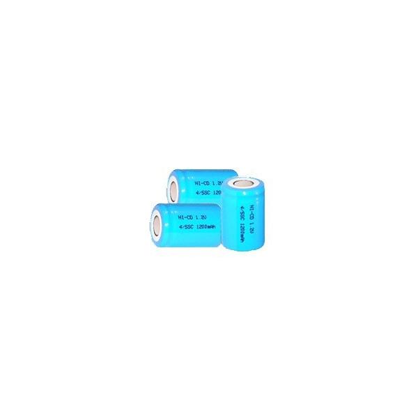 NiCD 4/5 A 1200 mAh batteri unden knup - 1,2V - Evergreen