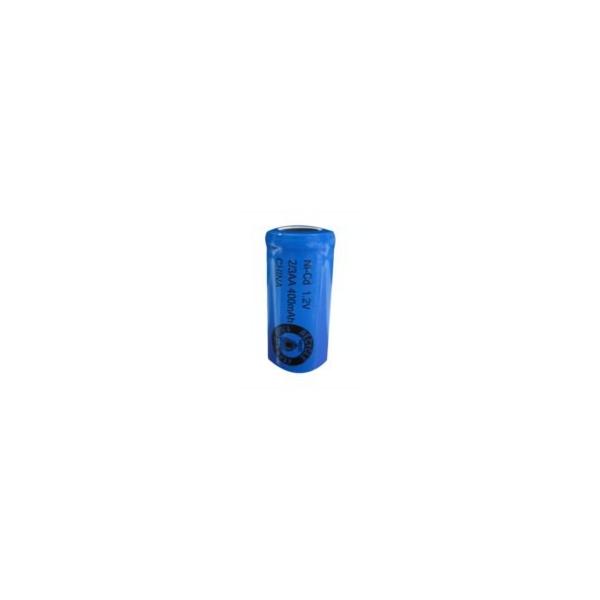 NiCD 2/3 AA 400 mAh batteri unden knup - 1,2V - Evergreen