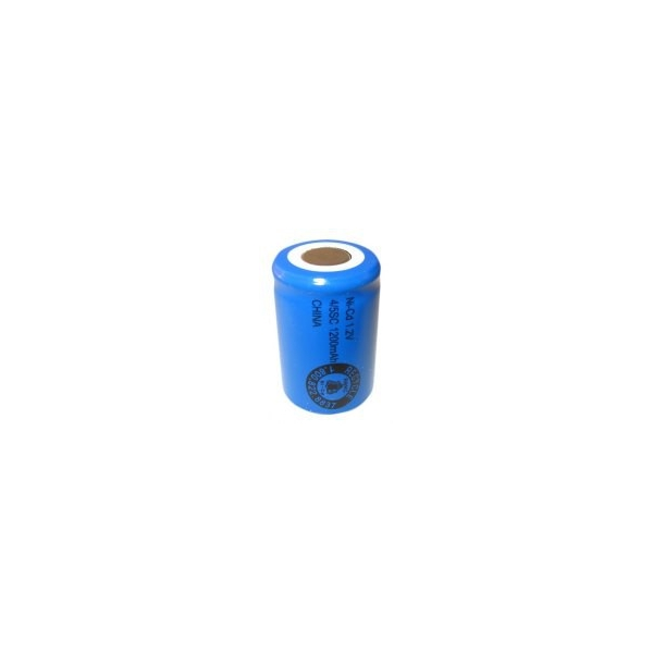 NiCD 4/5 Sub C 1200 mAh batteri uden knup - 1,2V - Evergreen