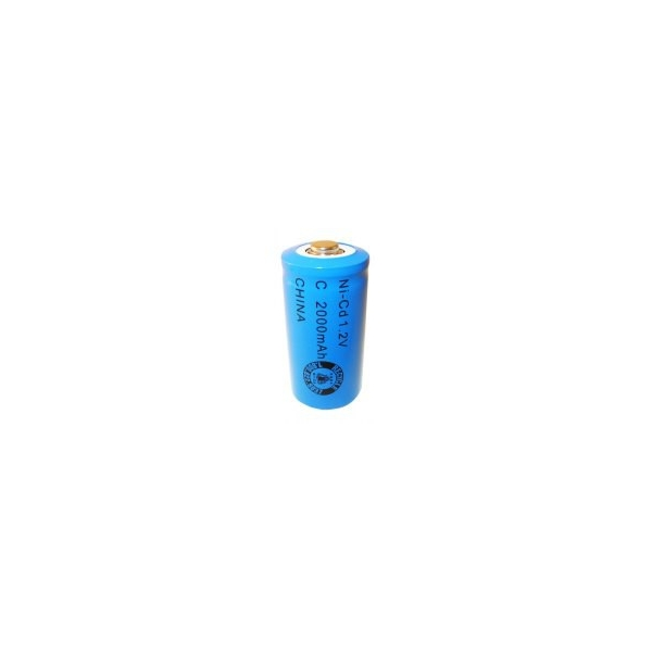 NiCD C 2000 mAh batteri - 1,2V - Evergreen