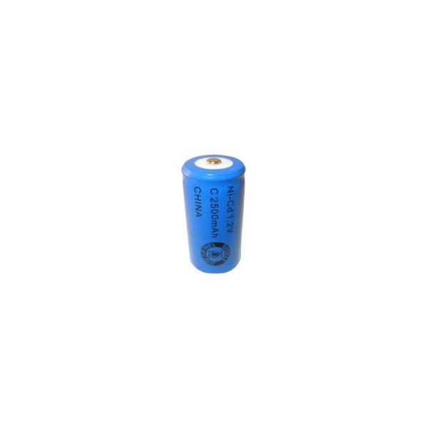 NiCD C 2500 mAh batteri - 1,2V - Evergreen