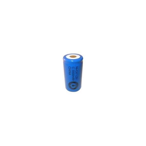 NiCD C 3000 mAh batteri uden knup - 1,2V - Evergreen