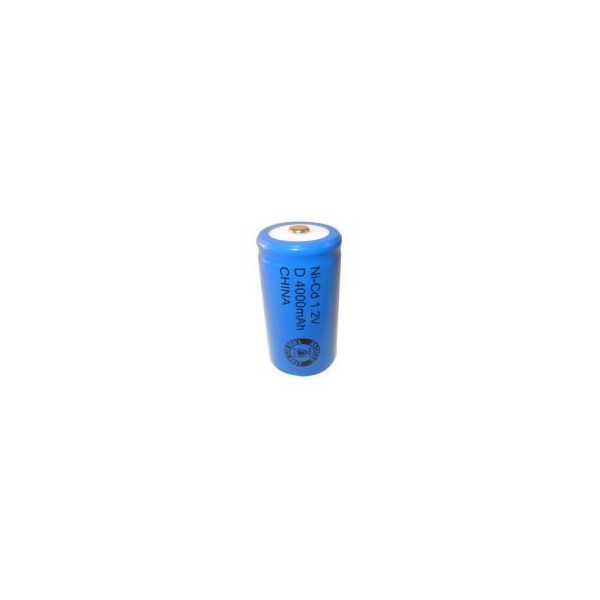 NiCD D 4000 mAh batteri - 1,2V - Evergreen