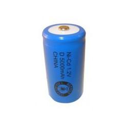 NiCD D 5000 mAh batteri - 1,2V - Evergreen