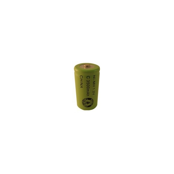 NiMH C 3500 mAh batteri - 1,2V - Evergreen