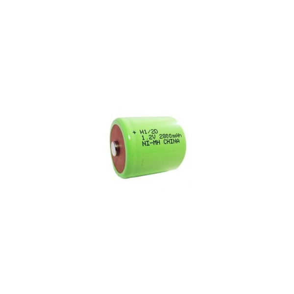 NiMH 1/2 D 2800 mAh batteri - 1,2V - Evergreen