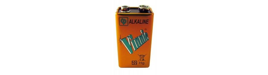 Alkaline 6LR61 - 9V
